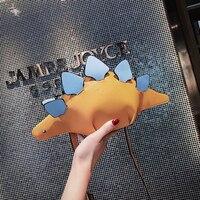 DUSUN Creative Chameleon Cartoon Handbags Flap 3D Funny Dinosaur Animal Messenger Bag Panelled Shoulder Crossbody Bags Girl Gift 1