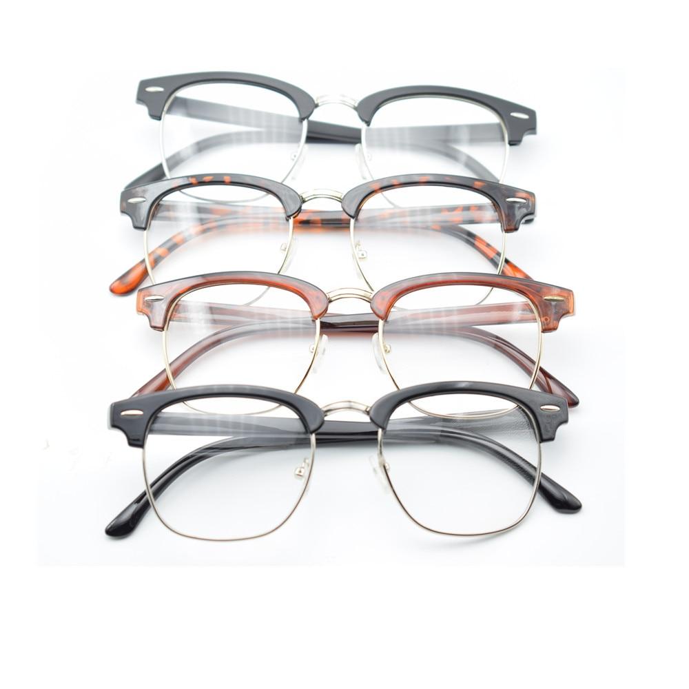 Glasses hipster Brown Classic Retro Clear Lens Glasses Eyewear Nerd Geek Eyeglass Designer Spectacles eyewear readers glasses non prescription
