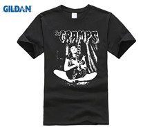 2018 Short Sleeve O-Neck The Cramps Turn Blue Clothes Colour Funny Printed Funky T Shirts