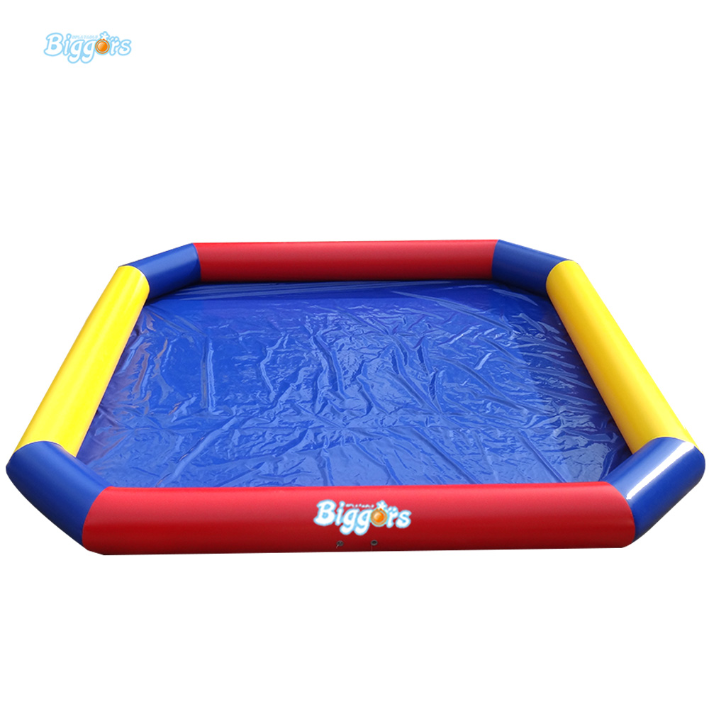 Commercial Grade Inflatable Kids Pool Inflatable Square Pool For Rental Kids Toys