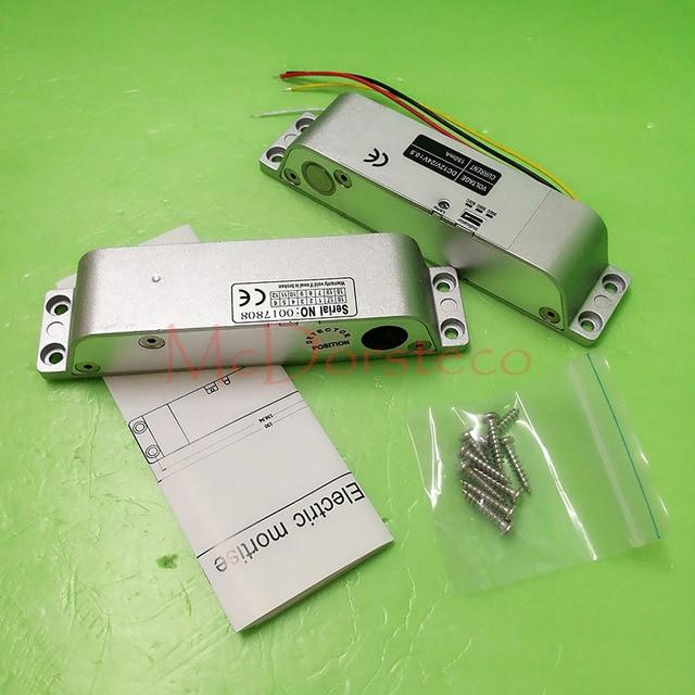 عالية الجودة تيار مستمر 12 فولت فشل آمن حزام قطر كهربائي قفل لباب التحكم في الوصول قفل الأمان قفل نقر الكهربائية