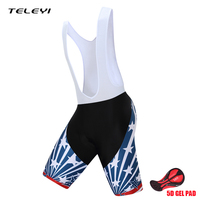 TELEYI Cycling Shorts Quick Dry Breathable Downhill DH MTB Shorts Mountain Road Bike Shorts Bicycle Clothing