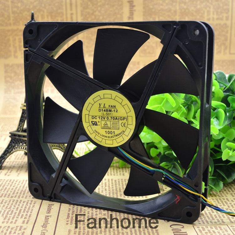 1PC NEW FAN for Yate Loon 12025 12CM D12SH-12 12V 0.30A