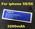3200 mah substituição bateria do telefone móvel para apple iphone 5s bateria use para iphone 5c iphone 5s