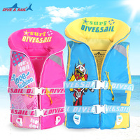 Child Life Vest Aid Jacket Whistle Swimming Boy's Girls Drifting Boating Survival Fishing Water Sport Safety Equipment swimsuit