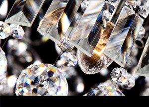Image 3 - Lengte 1500mm NIEUWE Moderne Kristallen Kroonluchter voor eetkamer Rechthoek Kristal Kroonluchter armatuur