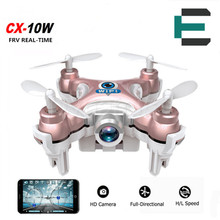 Cheerson CX-10W CX 10W Drone Dron Quadrocopter RC Quadcopter Nano WIFI Drone with HD Camera FPV 6AXIS GYRO Mini Drone xiaomi