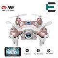 Cheerson cx-10w cx 10 w dron quadrocopter rc quadcopter drone nano WIFI FPV 6 EJES GYRO Mini Drone Drone con Cámara de ALTA DEFINICIÓN xiaomi