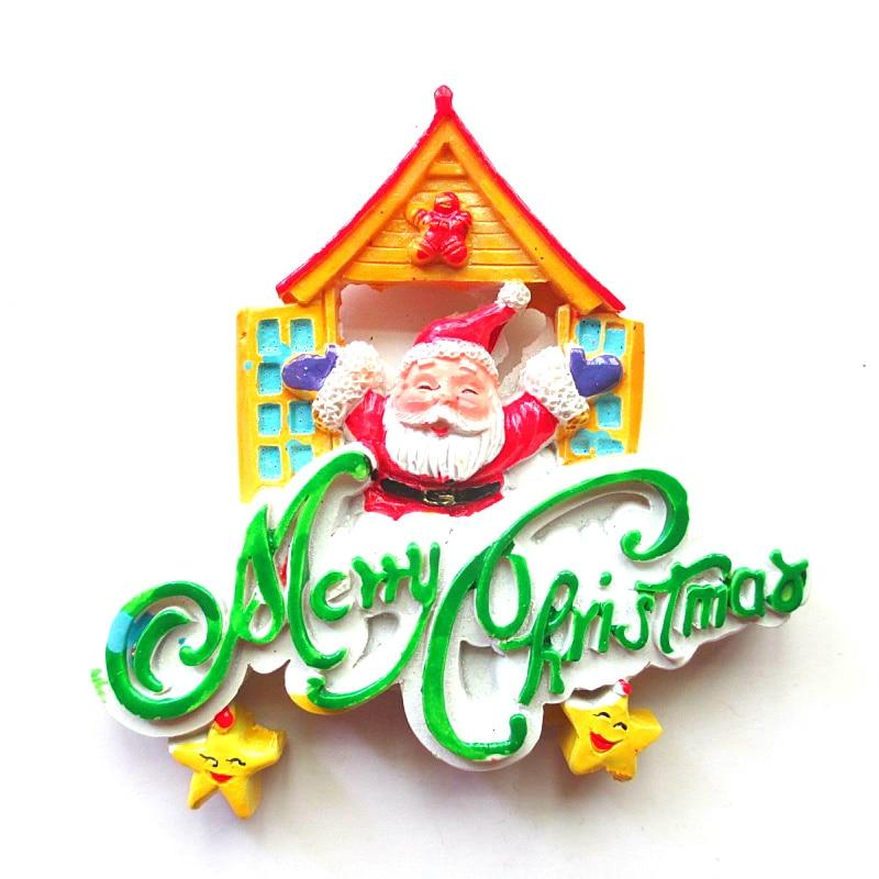 Hot sale Happy New Year Santa Claus Star High grade resin ...