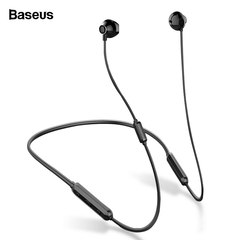 Baseus S11A Bluetooth Earphone Wireless Headphone Headset Neckband Sport Earbuds Auriculares For IPhone Xiaomi Earpiece With Mic
