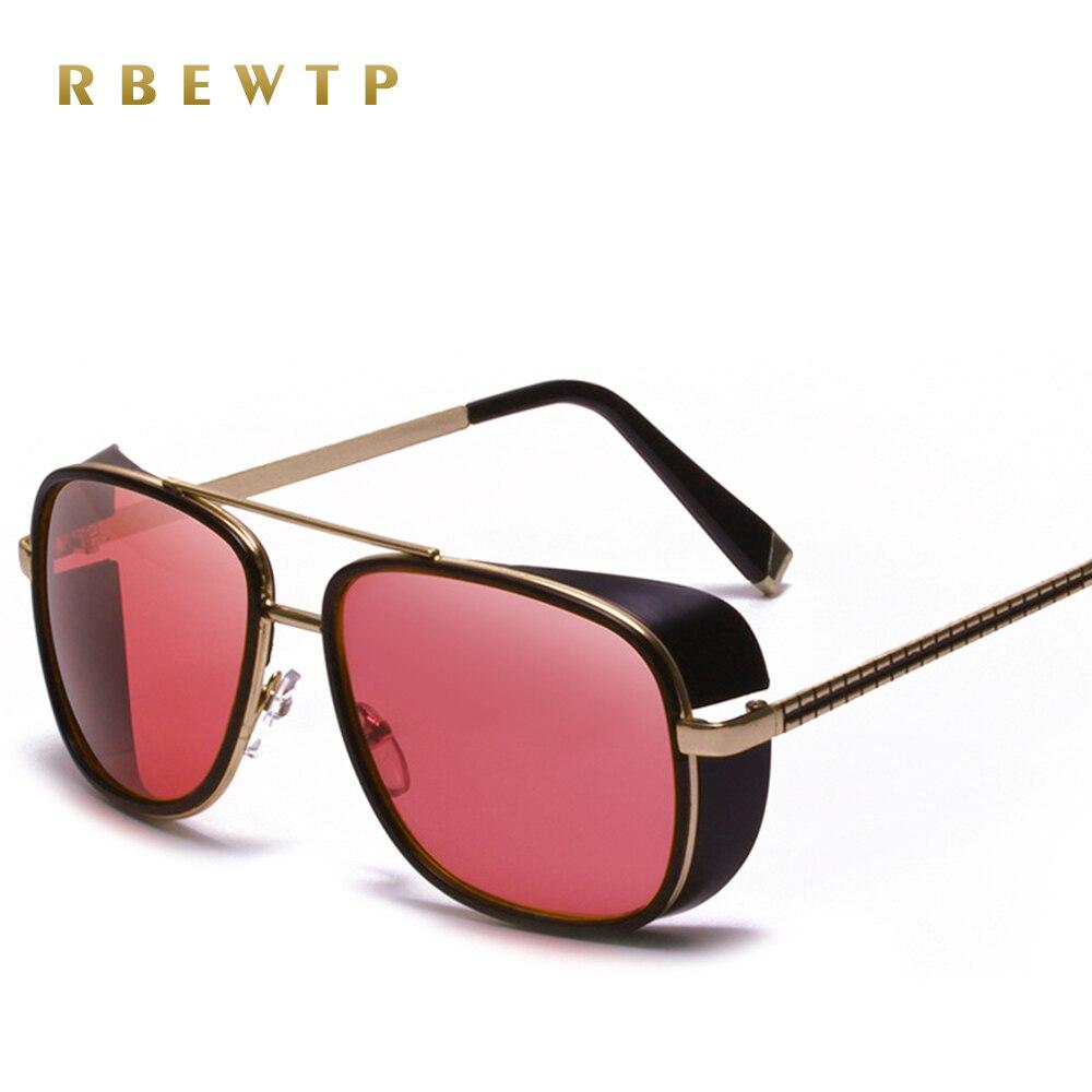2019 nuevo hombre de hierro 3 Matsuda TONY Steampunk piloto gafas de sol hombres/mujeres de diseñador de la marca gafas Vintage gafas de sol c-61