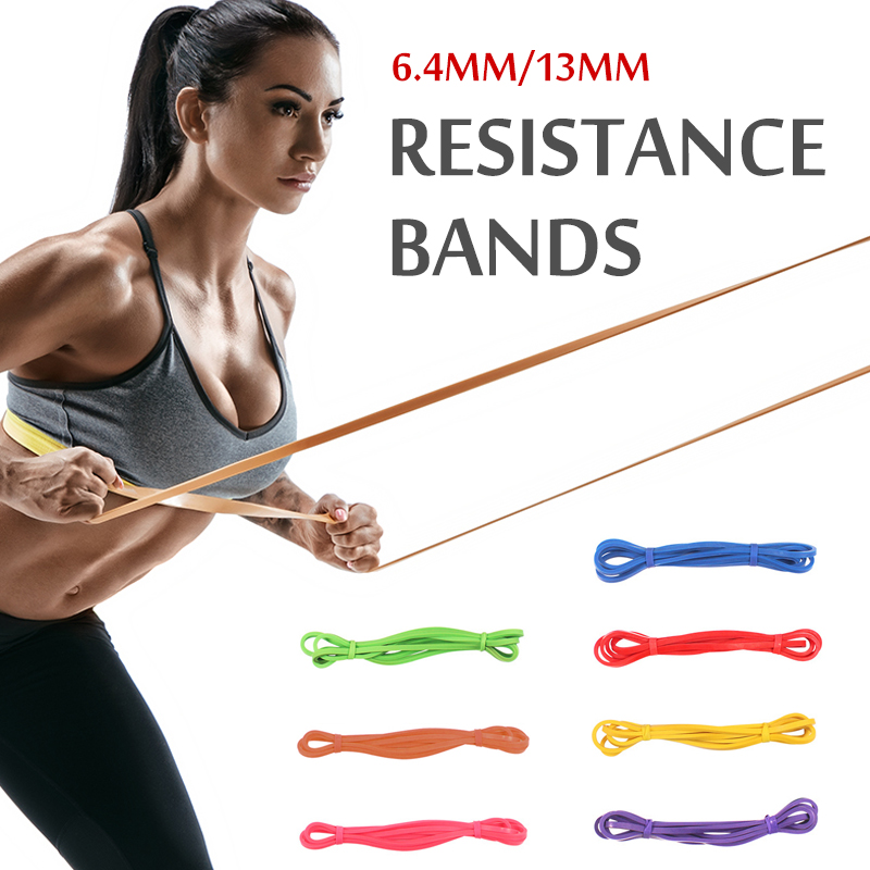 Training-Equipments Expander Rubber-Band Fitness-Loop Exercise Athletic Yoga Gym Gum