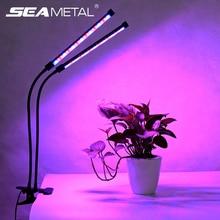 Fitolamp Licht Groeien 9/18/27W Led Lamp Voor Planten Volledige Spectrum Groeien Lamp Met Controller Plant gloeilamp Indoor Bloem Groeien