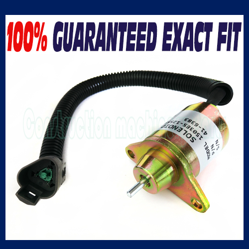 US $20 0 |Stop Shut Off Shutdown Solenoid for Yanmar Engine Replaces Thermo  King TK41 6383 TK 41 6383-in Generator Parts & Accessories from Home