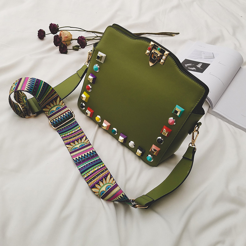 2017 nueva moda bolsas de mensajero de lujo de alta calidad mujeres de los bolso