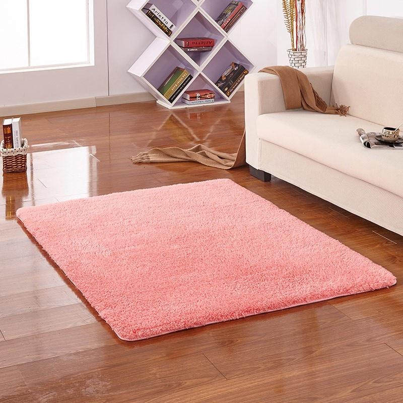 Soft Carpet Rug Slip Resistant Door Floor Mats Bedroom Hall Carpets ...