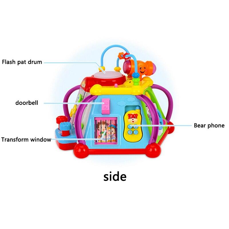Jouets éducatifs électriques pour enfants bébés éducation de la petite enfance bébé ramper chantant danse jouets cadeaux d'anniversaire - 4
