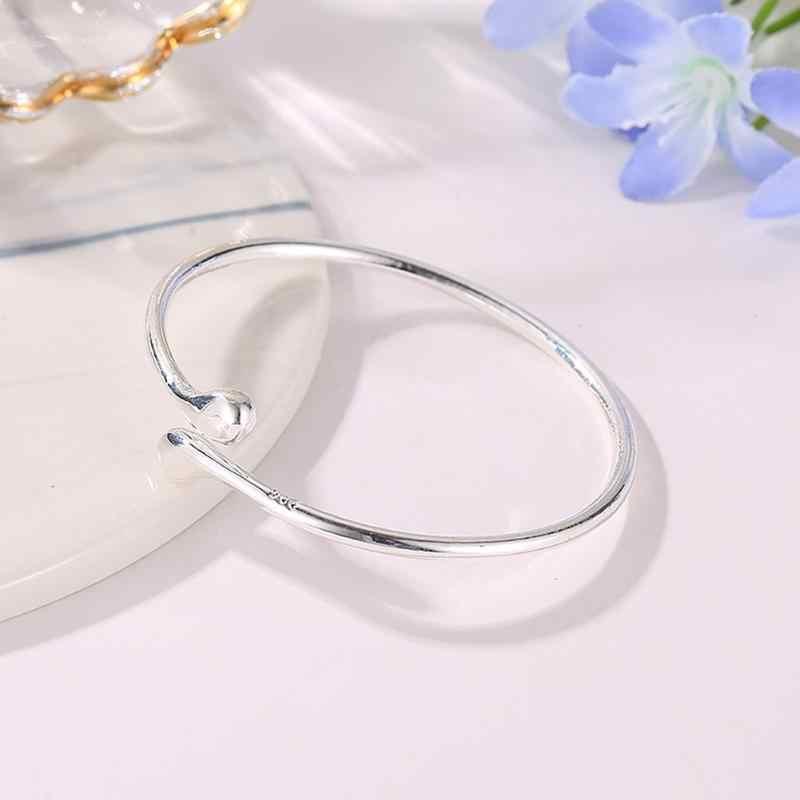 2019 ใหม่แฟชั่นงานแต่งงานชุดเจ้าสาว 925 ประทับตรา Silver Water Drop กำไลข้อมือ + สร้อยคอ + แหวน + ต่างหูชุดสำหรับสตรี