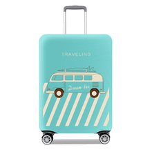 Protective high quality elastic cover for suitcase