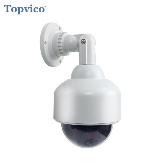 Topvico Dummy Camera PTZ Speed Dome Battery Powered Flicker Blink ...