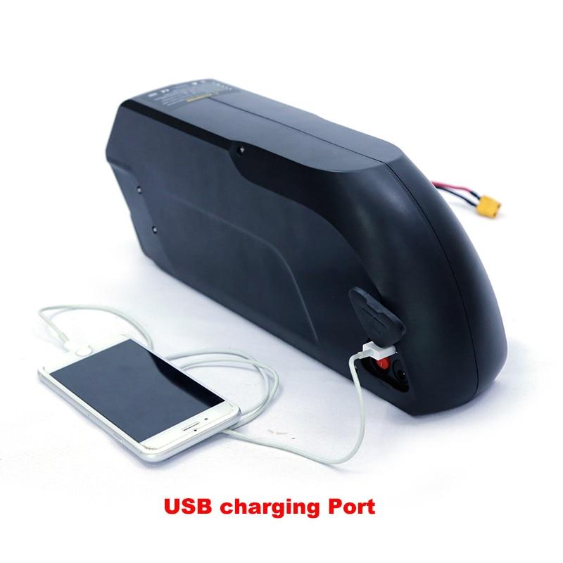 Batterie au lithium de vélo électrique 52 v 13ah