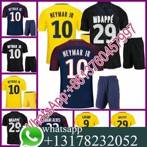 2017 2018 psg jersey 17 18 Home Away football camisetas Thai AAA shirt  neymar jr mbappa cavani Soccer jersey kits 03eee9339abeb