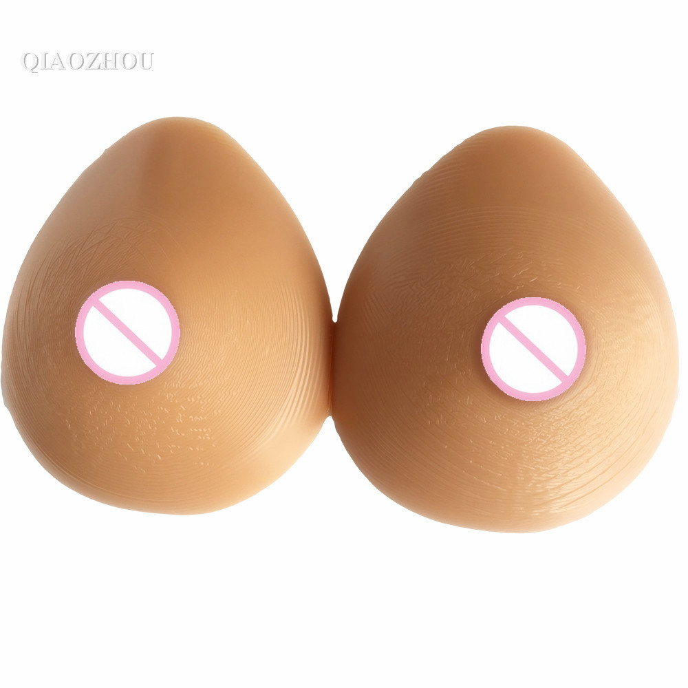 1600g F cup large boobs crossdresser fake silicon breast huge forms false breasts retail wholesale drop shipping 6000g very huge false breasts