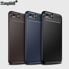 Carbon Fiber Phone Case For iPhone XS Max XR X 8 Plus Simple Plain Silicone Cover 6 6S 7 Soft Back