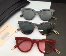 2017 hombres de Las Mujeres suaves Clásicos de Marca OJO OJO Remache Cat Eye Sunglasses Shades gafas de Sol de Marco de La Vendimia Gafas De Sol Oculos