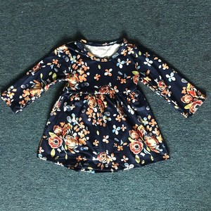Image 3 - Baby Girl Fall Long Sleeve Outfit With Ruffle Pants Clothing Set 88