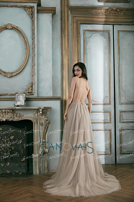 Նորաձևության երեկոյան զգեստներ Long 2018 - Հատուկ առիթի զգեստներ - Լուսանկար 3