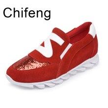 обувь женская замшадермадосугплоскодонныйженские туфли2017  весенний осенний мода блесткиКруглоголовыеженские туфли