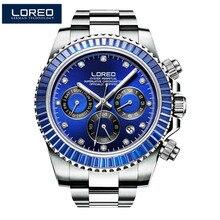 LOREO Men Automatic Mechanical Watch Luxury Brand Men Fashio
