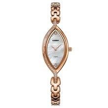 CASIMA Fashion Women's Bracelet Dress Watches Top Luxury Brand Montre Femme Stainless Steel Strap Gold Ladies Clock Women Watch