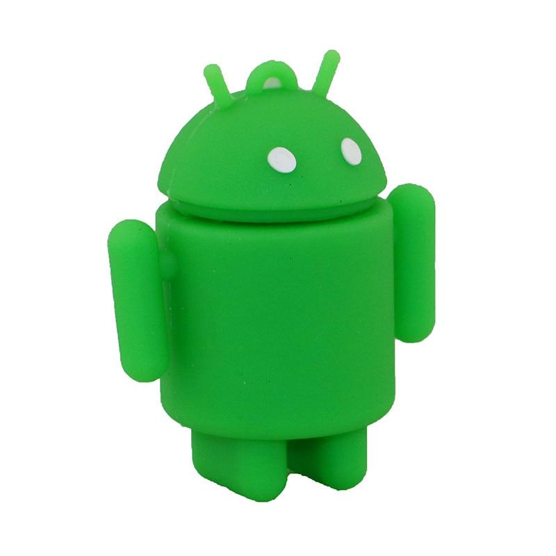 Pen Drive Cartoon Söt Android Robot Extern lagring 8 GB 16 GB 32 GB - Extern lagring - Foto 2