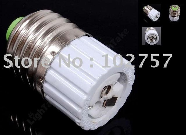 E27 to MR16 Light Lamp Bulb Holder Converter Socket 5-Pack/los