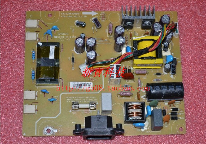 Free Shipping>Original   E2009W pressure plate PTB-2063 6832206300B01 power board-Original 100% Tested Working free shipping original c lwm930 la760 power board pu lwm930 pressure plate jsi 190401b original 100% tested working