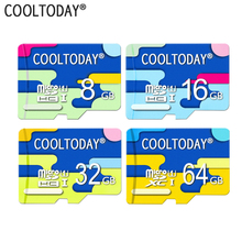 COOLTODAY Microsd 16GB UHS 1 Micro SD Card Class 10 Flash Card Real Capacity Memory Card