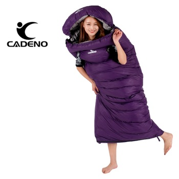 Ultralight Sleeping Bag Camping Sleeping Bag Winter Sleeping Bag Duck Down Envelope Type Outdoor Camping Accessories 210*80cm 1