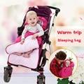 Hot 2016 New Rushed baby Sleeping Bag, Baby Stroller Sleeping Bag Winter Warm Envelope For Pram  Oxford footmuff for wheelchair