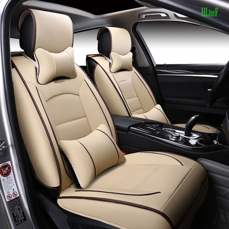 (Avant et arrière) housses de siège de voiture en cuir de luxe pour BMW e30 e34 e36 e39 e46 e60 e90 f10 f30 x3 x5 x6 coussin de siège de voiture - 3