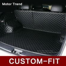 Ajuste personalizado estera del tronco de coche para Accord Camry RAV4 Corolla Altima CRV Escape Focus Fusión Explorador 3D diseño de coches de carga liner