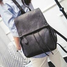 LEFTSIDE 2016 school back packs New Korean Backpacks Fashion denim Women Backpack cute Girls boys Bags for school Travel bags