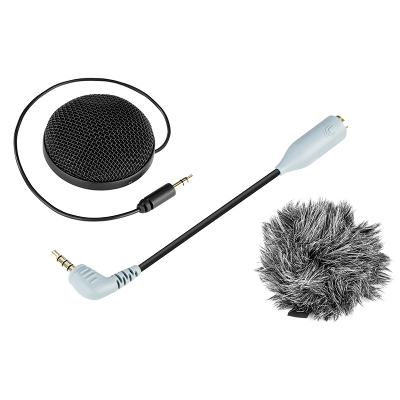 BOYA BY-MM2 Stereo Microphone Omni-directional Condenser Mic for Canon Nikon Camera Camcorder Audio Recorder Smartphone TabletBOYA BY-MM2 Stereo Microphone Omni-directional Condenser Mic for Canon Nikon Camera Camcorder Audio Recorder Smartphone Tablet