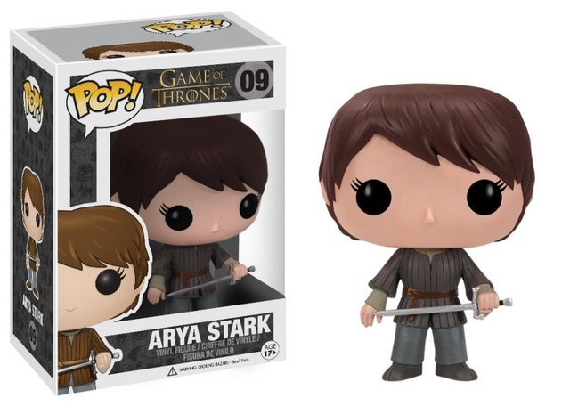Game of Thrones Arya Stark Action Figure Model with gift box