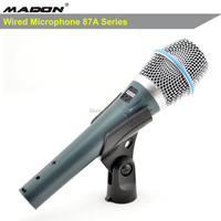 Free Shipping ,BETA87A condenser capsule microphone ,beta87a Wired condenser Microphone,microfone,microfono,Mikrofon,Microphone