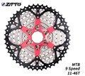 ZTTO горный велосипед 9 скоростей 11-46T кассеты 9 скоростей 9 s звездочки 9v k7 части велосипеда соотношения совместимы с M430 M4000 M590