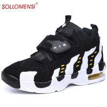 Hot sale new design free shipping men basketball shoes 2016 men Basketball Shoes air sole women basketball sneakers size 35-44