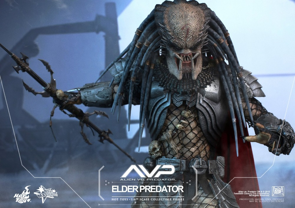 все цены на 1/6th scale figure AVP Terror Alien Hunter Elder Predator 12