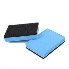 2X новое автомобильное керамическое покрытие Губка Стекло нано воск пальто подушечка-аппликатор